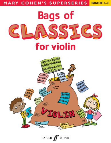 9780571536023: Bags of Classics for Violin (Mary Cohens Superseries)
