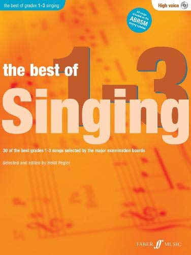 9780571536832: The Best Of Singing Grades 1-3 (High Voice)