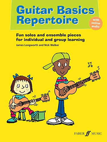 Guitar Basics Repertoire (With Free Audio CD): James Longworth, Nick