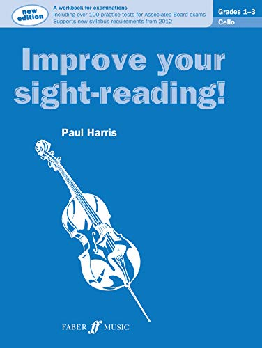 9780571536979: Improve Your Sight-reading! Cello, Grade 1-3: A Workbook for Examinations