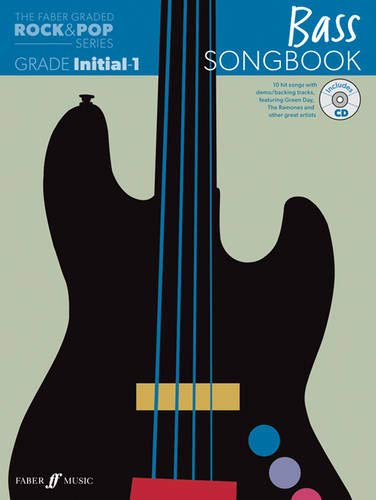 9780571537211: Bass Songbook: Initial to Grade 1 (The Faber Graded Rock & Pop Series)