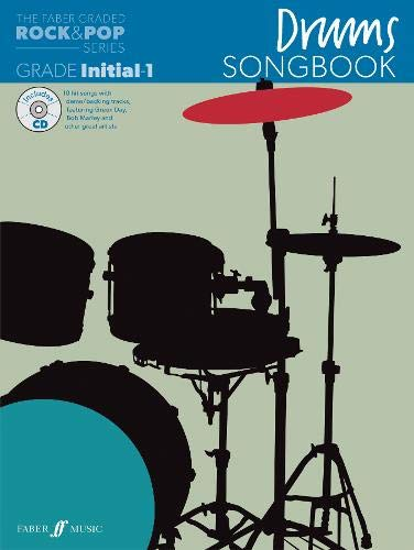 9780571537235: Drums Songbook: Initial to Grade 1 (The Faber Graded Rock & Pop Series)