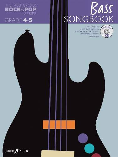 9780571537686: The Faber Graded Rock & Pop Series Bass Songbook: Grades 4-5 (Bass Guitar)