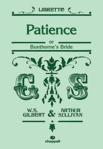 9780571538584: Patience (Libretto)