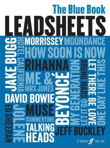 9780571538966: Leadsheets (Blue Book) (Melody, Chords and Lyrics)