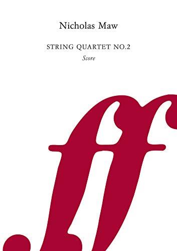 String Quartet No. 2: Score (Score) (0571555179) by Maw, Nicholas