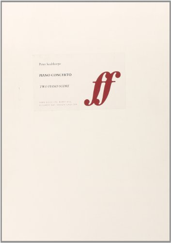 9780571557370: Concerto for Piano (Faberprint)