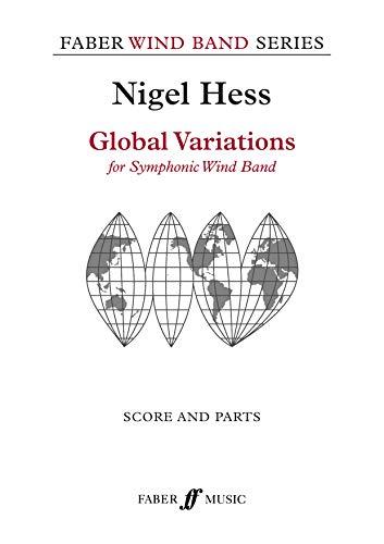 Global Variations (Score & Parts) (Faber Wind Band): Nigel Hess