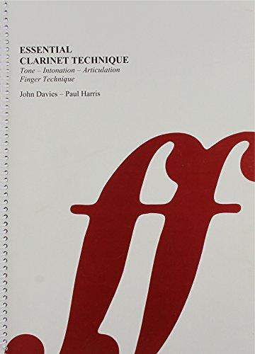 9780571558537: Essential Clarinet Technique: Tone / Intonation / Articulation / Finger Technique