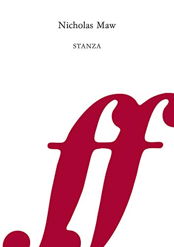 Stanza (Part) (Faber Edition) (0571562930) by Maw, Nicholas