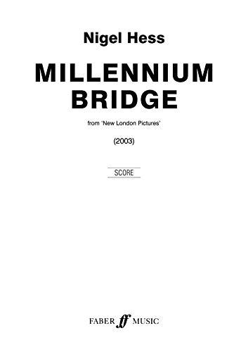 9780571567706: Millennium Bridge: Wind Band (Score)