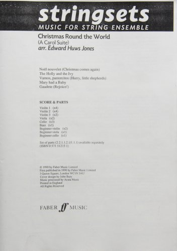 9780571568222: Christmas Round the World: Score & Parts (Faber Edition: Stringsets)