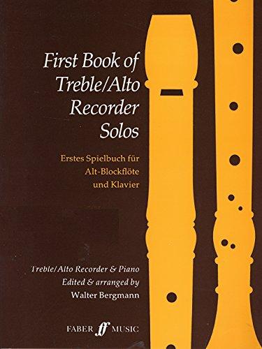 9780571568536: First Book of Treble / Alto Recorder Solos