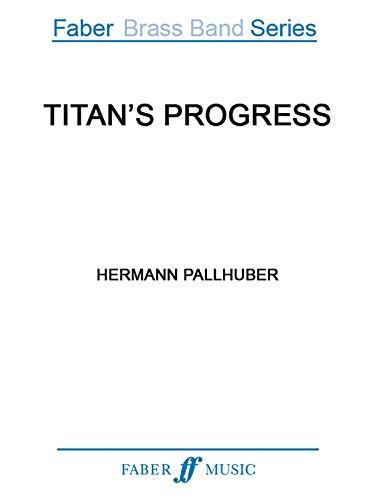 9780571569786: Titan's Progress (Score) (Faber Edition: Faber Brass Band Series)