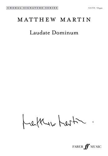 Laudate Dominum: Satb (with Organ), Choral Octavo