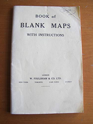 9780572002534: Book of Blank Maps