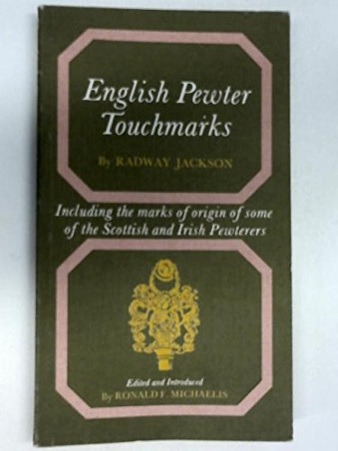9780572007430: English Pewter Touchmarks (Dealer guides)