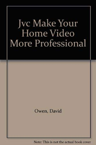 9780572011512: Jvc Make Your Home Video More Professional