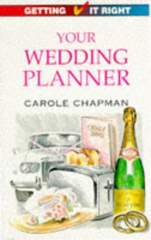 9780572017613: Your Wedding Planner (Getting it Right)