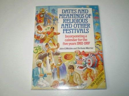 9780572018191: Dates and Meanings of Religious and Other Festivals