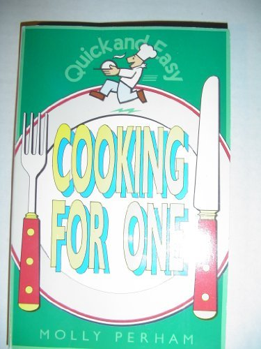 9780572019808: Cooking for One (Quick and Easy)