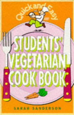9780572020422: Quick and Easy Students' Vegetarian Cook Book
