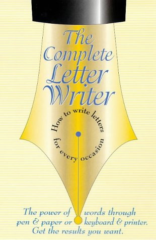 9780572024246: Complete Letter Writer,The