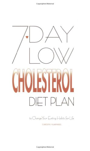 9780572025090: 7-Day Low Cholesterol Diet Plan: To Change Your Eating Habits for Life