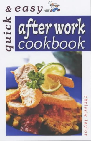 9780572026936: After Work Cookbook (Quick and Easy)