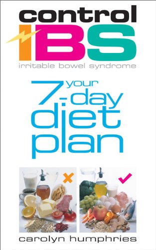 9780572032289: Control IBS: Your 7-day Diet Plan