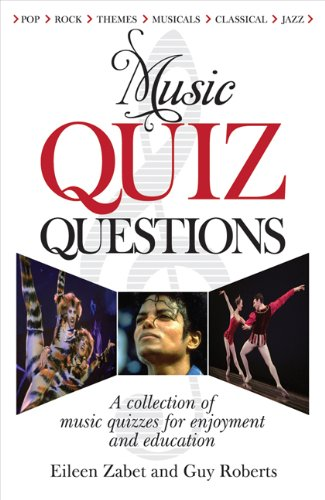 9780572035716: Music Quiz Questions: A Collection of Music Quizzes for Enjoyment and Education