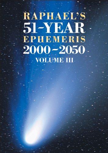9780572039097: Raphael's 51-Year Ephemeris 2000 to 2050: 3