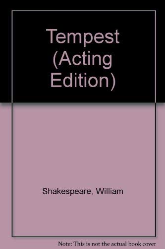 Tempest (French Acting Edition): Shakespeare, William