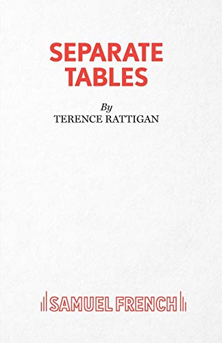 Separate Tables - Two Plays (Acting Edition: Rattigan, Terence