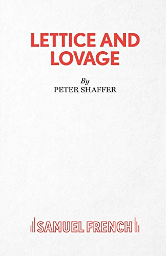 9780573018237: Lettice and Lovage - A Comedy (Acting Edition)