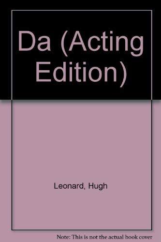 9780573110658: Da (Acting Edition)