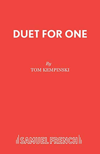 9780573110917: Duet for One (Acting Edition)