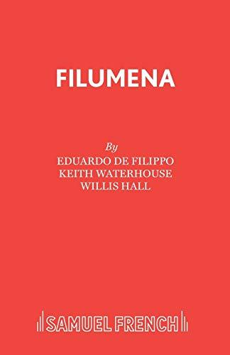Filumena (Acting Edition): de Filippo, Eduardo