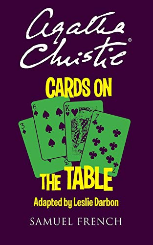 9780573115400: Cards on the Table