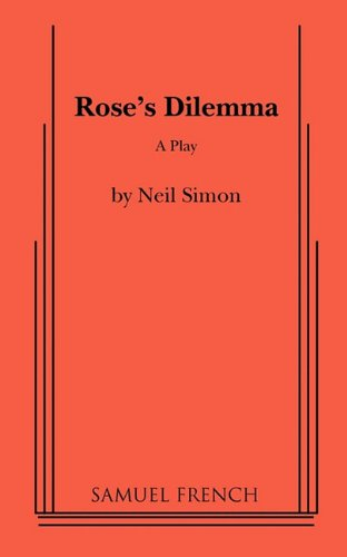 9780573602627: Rose's Dilemma