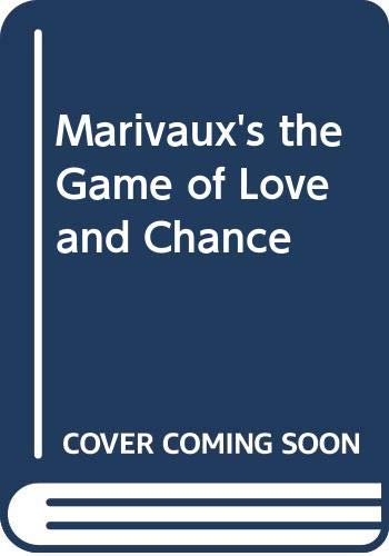 9780573626371: Marivaux's the Game of Love and Chance