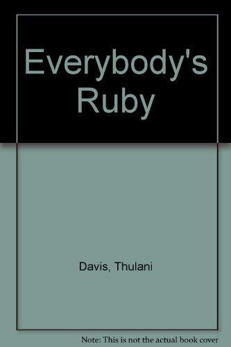 9780573627125: Everybody's Ruby