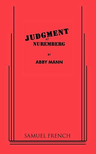 9780573627897: Judgment at Nuremberg