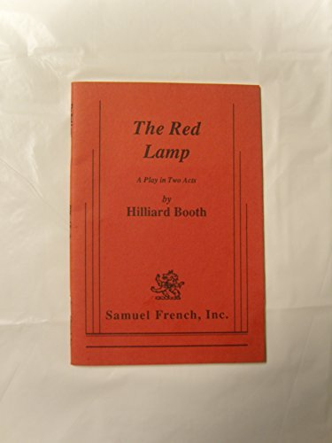 9780573629242: The Red Lamp : A Play in Two Acts