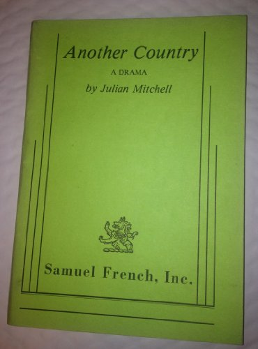9780573640407: Another country: A drama