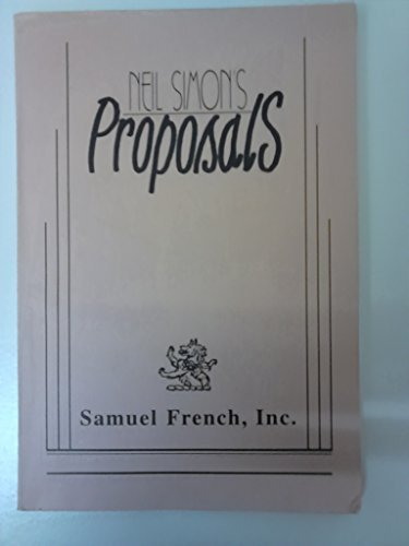 9780573650994: Proposals
