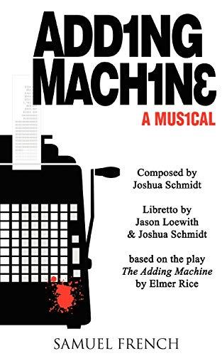 9780573663024: Adding Machine - A Musical