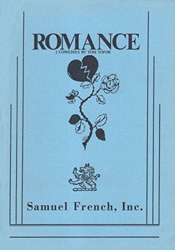 """Romance (""""here to stay"""" and """"but Nor for me"""") 2 Comedies: Topor, Tom"""