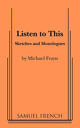 Listen to This: Frayn, Michael
