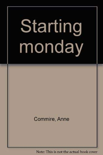 Starting Monday: Commire, Anne